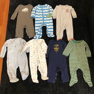Other - Baby boy 9months lot sleeper bodysuit